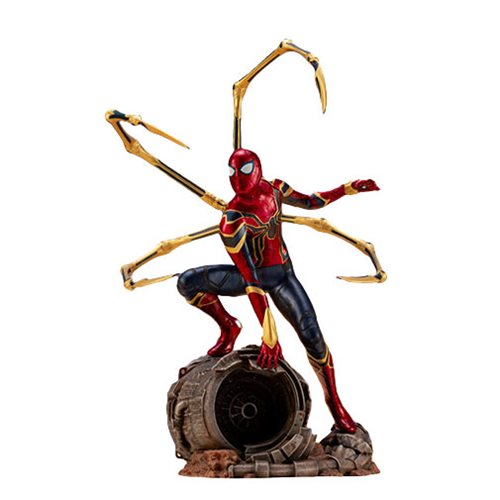 Avengers: Infinity War Iron Spider 1:10 Scale ARTFX+ Statue – Free Shipping