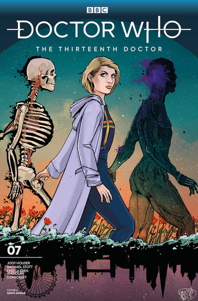 Doctor Who 13th #7 (Cover A – Anwar)