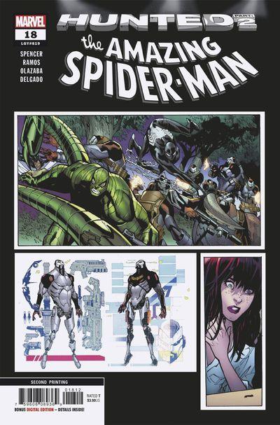 Amazing Spider-Man #18 (2nd Printing)