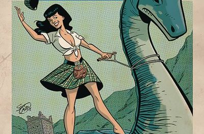 Bettie Page #5 (Cover B – Chantler)