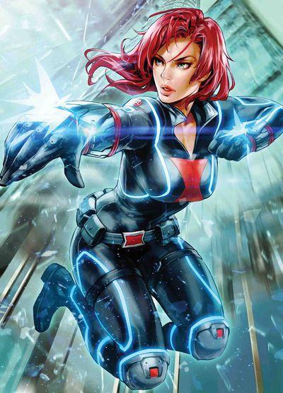 Black Widow #5 (K Lee Marvel Battle Lines Variant)