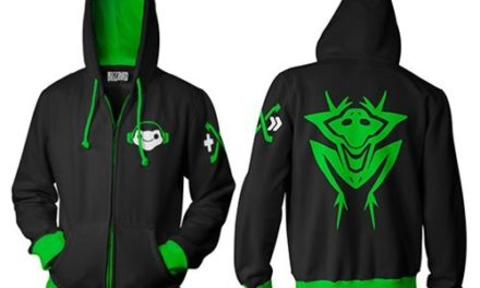 Overwatch Ultimate Lucio Zip-Up Hoodie