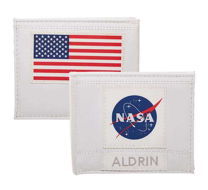 Buzz Aldrin Nasa Wallet