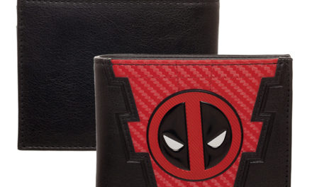 Deadpool Chrome Weld Patch Wallet