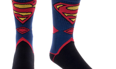 Superman Suit Up Crew Socks