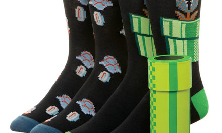 Super Mario Warp Pipe Crew Socks