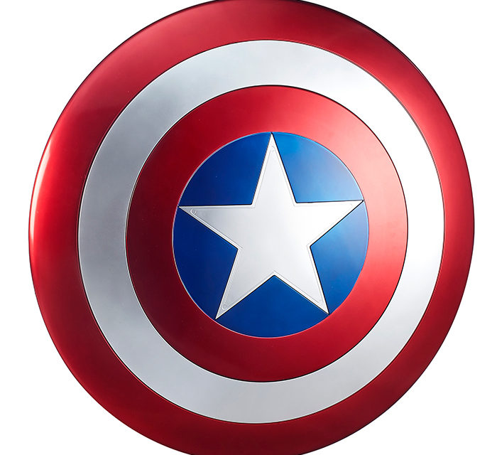 Marvel Legends: Captain America 24″ Shield