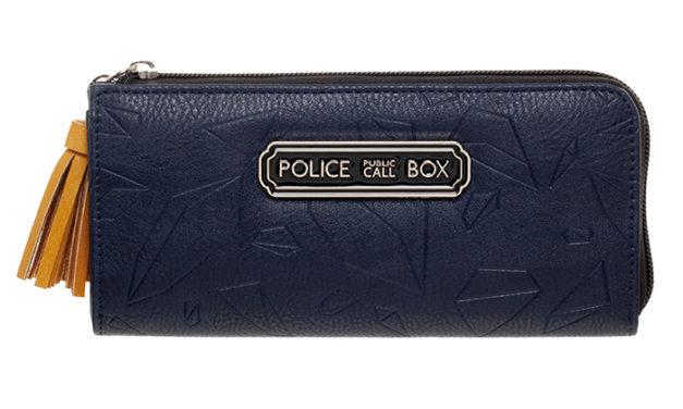 Doctor Who TARDIS Zip Wallet