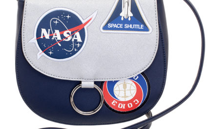 NASA Patch Crossbody Bag