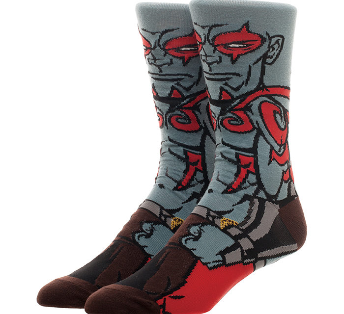 Guardians of the Galaxy Drax Socks