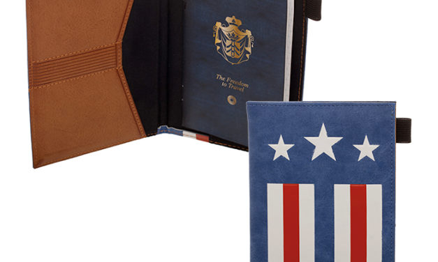 Captain America Passport Wallet