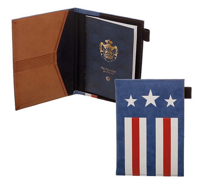 Captain America Passport Wallet