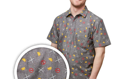 Deadpool Party Woven Shirt