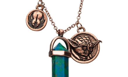Star Wars Yoda Crystal Pendant Necklace