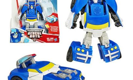 Transformers Rescue Bots Chase the Police-Bot Figure