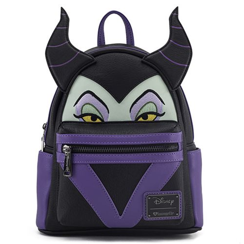 Sleeping Beauty Maleficent Face Mini Backpack