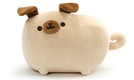 Pusheen the Cat Pugsheen 9 1/2-Inch Plush