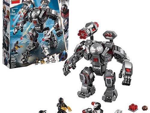LEGO 76124 Marvel Super Heroes War Machine Buster