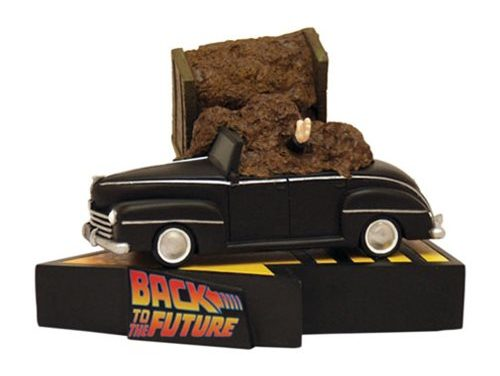 Back to the Future Manure Truck Accident Premium Motion Statue