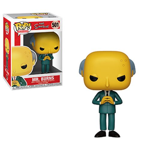 Simpsons Mr. Burns Pop! Vinyl Figure