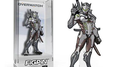 Overwatch Genji FiGPiN Enamel Pin