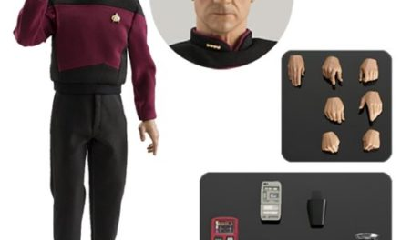 Star Trek: The Next Generation Captain Jean-Luc Picard 1:6 Scale Action Figure – Free Shipping