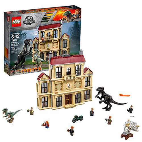 LEGO Jurassic World 75930 Indoraptor Rampage at Lockwood Estate – Free Shipping