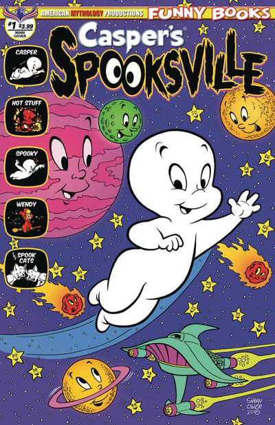 Caspers Spooksville #1 (of 4) Shanower Main Cover