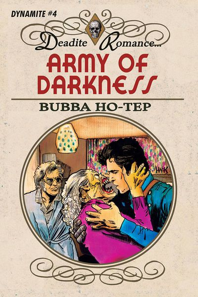 Army of Darkness Bubba Hotep #4 (Cover C – Hack)