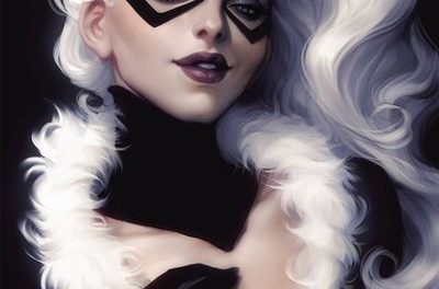 Black Cat #1 (Artgerm Virgin Variant)