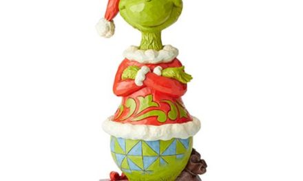 Dr. Seuss The Grinch Statue with Arms Folded by Jim Shore Statue – Free Shipping
