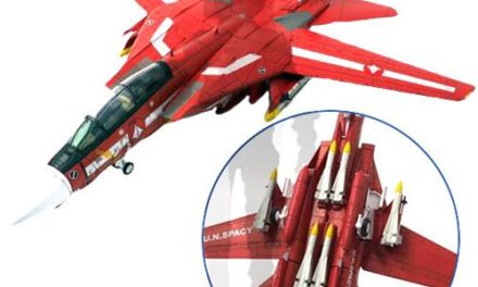 Robotech 1:72 Scale F-14 UN Spacy Miriya Sterling's Die-Cast Metal Vehicle – Free Shipping