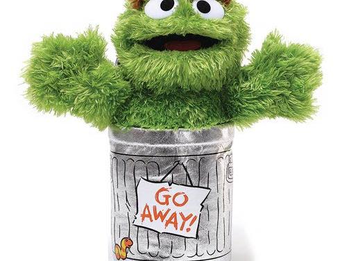Sesame Street Oscar the Grouch 10-Inch Plush