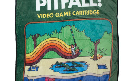 Pitfall! Atari Cartridge Throw Blanket