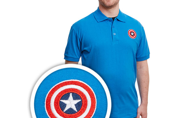 Marvel Captain America Shield Polo