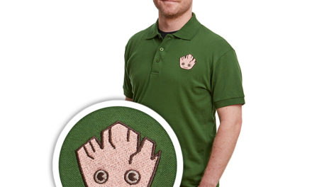 Marvel Groot Kawaii Polo