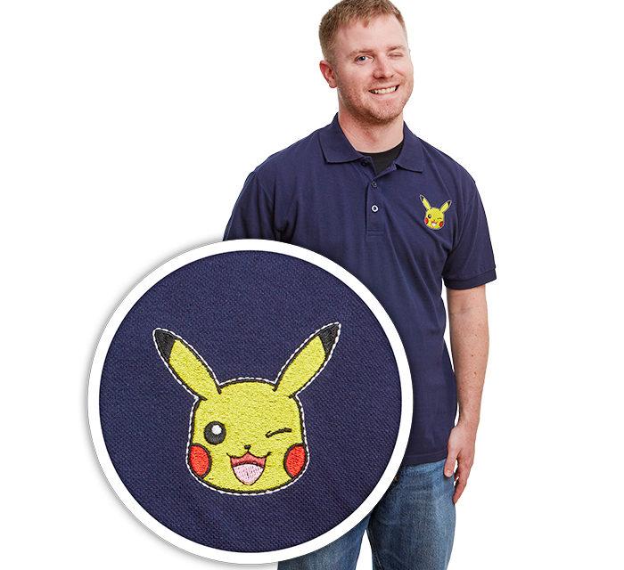 Pokémon Pikachu Wink Polo