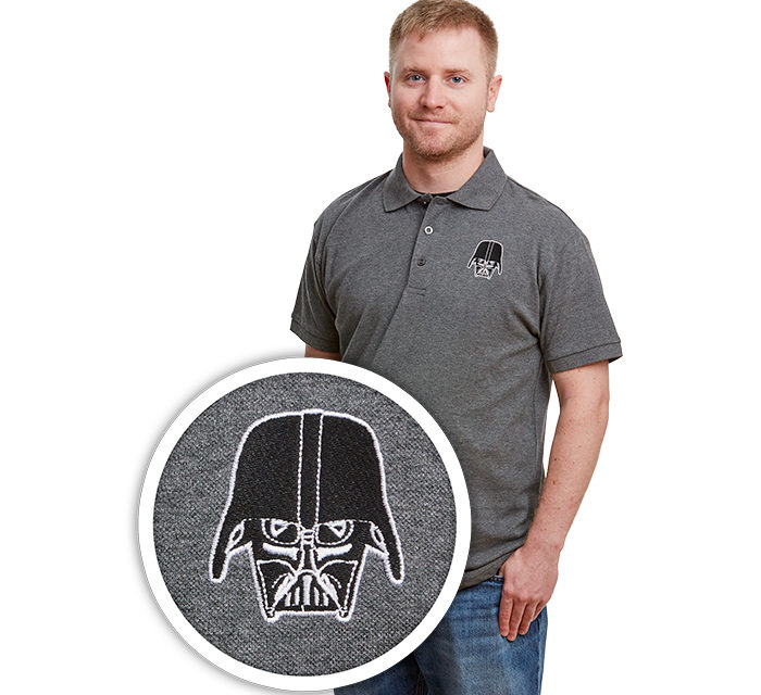 Star Wars Darth Vader Mask Polo