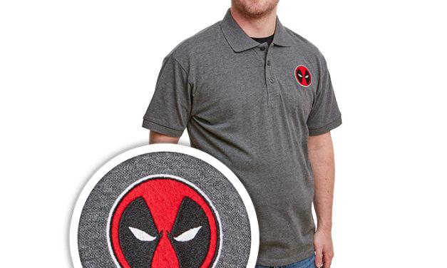 Marvel Deadpool Mask Polo