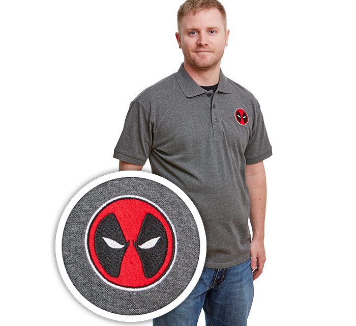Marvel Deadpool Mask Polo