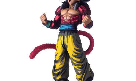 Dragon Ball GT Manga Dimensions Super Saiyan 4 Goku – Super Master Stars Figure