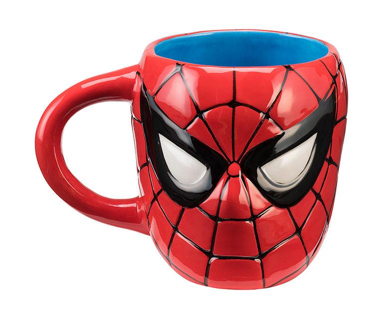 Marvel Spider-Man Head Sculpt Mug