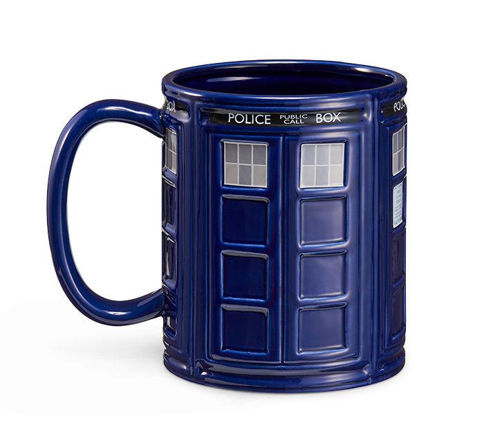 TARDIS Mug 64 oz