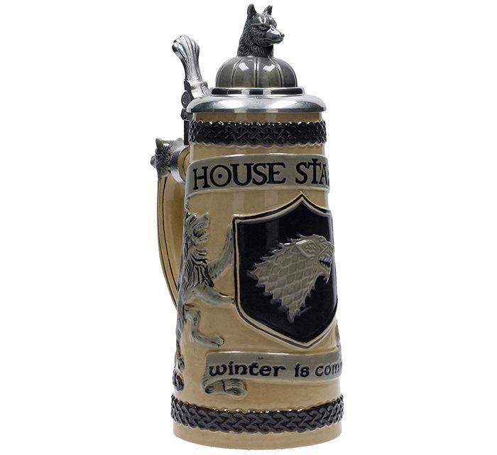 Game of Thrones House Stark Ceramic Stein