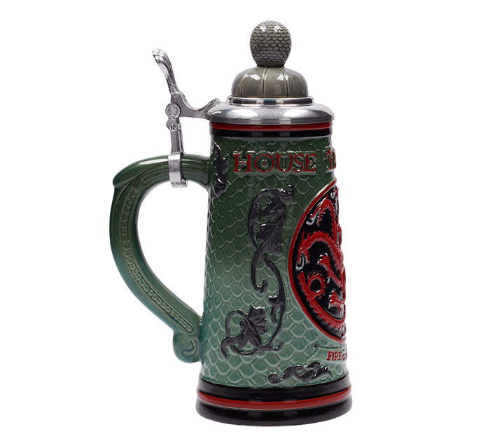 Game of Thrones House Targaryen Ceramic Stein