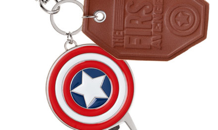 Marvel Captain America Keychain