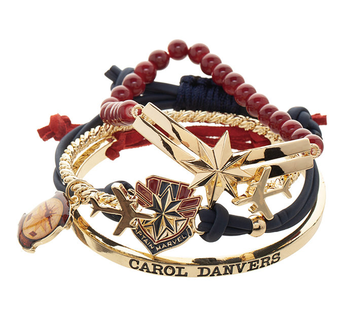 Marvel: Captain Marvel Bracelets