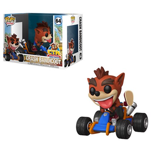 Crash Bandicoot Crash Team Racing Pop! Vinyl Vehicle #64