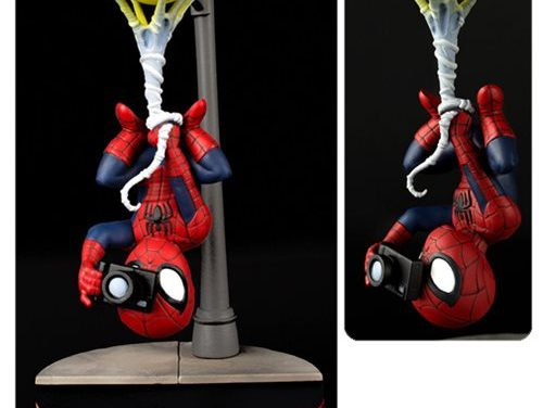 Spider-Man Spider Cam Q-Fig Figure