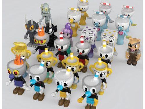 Cuphead Blind Box Construction Toy Mini-Figure Random 4-Pack
